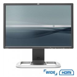 Used Monitor LP2475W TFT/HP/24/1920x1200/wide/Black/2xDVI-Ι & HDMI & DP & S-VIDEO & USB HUB