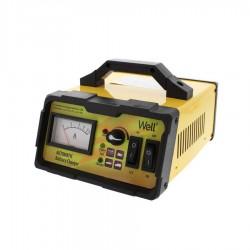 Φορτιστής-Επανορθωτής μπαταρίας αυτοκινήτου 6V, 12V, 10A Well CHAR-CAR-10611-WL