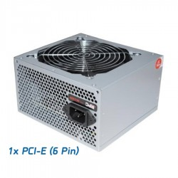 Τροφοδοτικό RPC 600W ATX 1x6pin PCI-E 12cm FAN 60020LAC