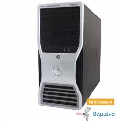 Dell T5400 Tower 2xXeon E5410/8GB DDR2/750GB/Nvidia 512MB/DVD Grade A Workstation Ref. PC