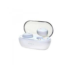Ακουστικό In-ear Bluetooth Wireless earphones w/Docking Station Λευκό Vakoss SK-848BW