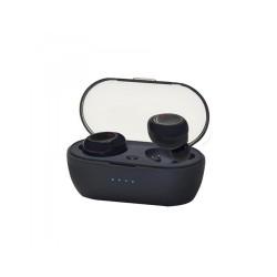 Ακουστικό In-ear Bluetooth Wireless earphones w/Docking Station Μαύρο Vakoss SK-848BK