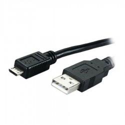 Καλώδιο USB 2.00 A-B 1.2m Μαύρο