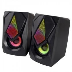 Ηχείο 2.0 USB LED EGS102 Rainbow Boogie