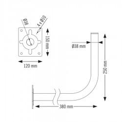 Βάση τοίχου WS-38380