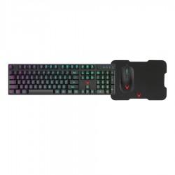 Varr Gaming Set 3in1 LED backlight Keyboard/RGB Mouse/Mousepad VSETKMP01