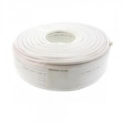 Καλώδιο ομοαξωνικό 100m, 6.5mm, CX-015LC, 75R λευκό Well RG6-CCS/AL-100-CHR