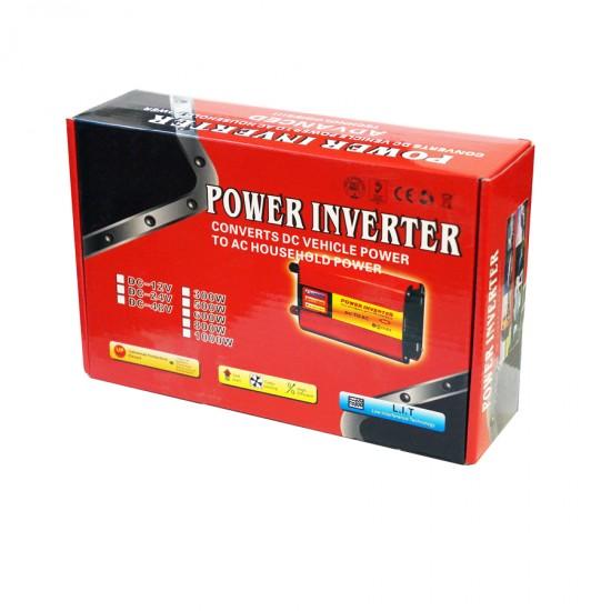 POWER INVERTER 300W 12V DC TO 220V AC