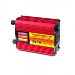 POWER INVERTER 500W 12V DC TO 220V AC