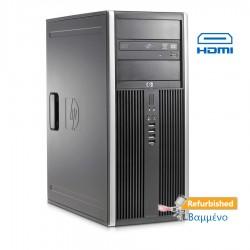 HP 8100 Tower i7-860/4GB DDR3/500GB/Κάρτα Γραφικών/DVD/7P Grade A+ Refurbished PC