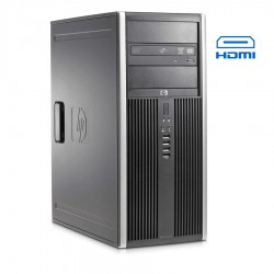 HP 8100 Tower i7-860/4GB DDR3/500GB/Κάρτα Γραφικών/DVD/7P Grade A Refurbished PC