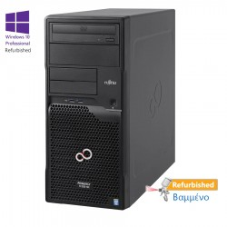 Fujitsu TX1310M1 Tower Xeon E5-1226 V3(4-Cores)/16GB DDR3/1TB/DVD/W10P Refurbished Grade A+ Workstat