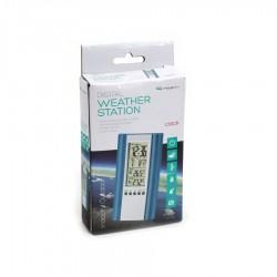 FIESTA ψηφιακό θερμόμετρο εσωτερικού/εξωτερικού χώρου μπλε FSTT04B