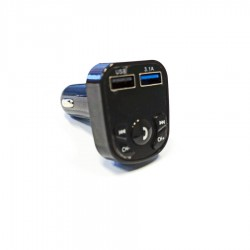 Car MP3 Player Fm Transmitter w/Dual USB Charger 2.1A X30