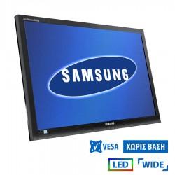 Used Monitor S24x450 LED/Samsung/24/1920x1080/Wide/No Stand/Black/VGA & DVI-D