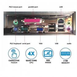 Σύστημα POS Capacitive toush 15