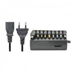 Universal  Φορτιστής επιλεκτική τάση 12-24V 9tips