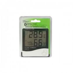 Ψηφιακό Θερμόμετρο  Υγρόμετρο  Εσωτερικού/Εξωτερικου Χώρου