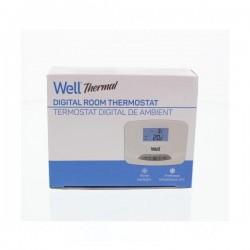 Ηλεκτρονικός ψηφιακός θερμοστάτης χώρου με οθόνη LCD Well THERMS-THERMAL-WL