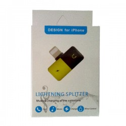 Lighting Splitter Music and Charging at the same time for iPhone