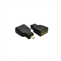 Adaptor HDMI θυληκό σε MICRO HDMI αρσενικό Χρυσό Well ADAPT-HDMIF/UHDMIM-W