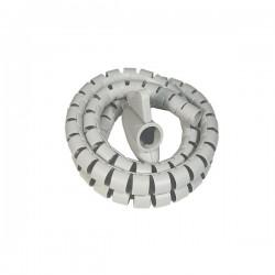 Σπιράλ καλωδίων με κλιπ 10mm 2μέτρα