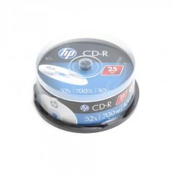 HP CD-R  80/700mb /52x cake box 25pack