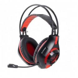 Deathstrike  Ακουστικό με μικρόφωνο gaming Κόκκινο EGH420R