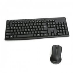 OMEGA Σετ Πληκτρολόγιο ποντίκι  Ασύρματο με Αγγλικούς χαρακτήρες  OKM071B