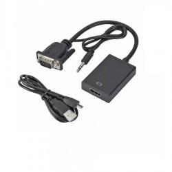 Adaptor VGA σε HDMI w/Audio USB16308