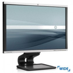 """Used Monitor LA2405wg TFT/HP/24""""/1920x1200/wide/Silver/Black/DP & D-SUB & DVI-D & USB HUB."""