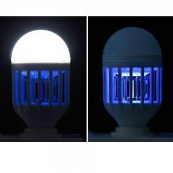 Λάμπα με UV κατά των κουνουπιών LED E27 8W 6000K Well LEDLMQC-8WE27-WL