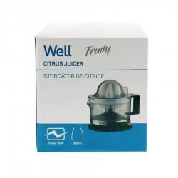 Αποχυμωτής Fruity 500ML 40W Well JUICER-FRUITY-WL