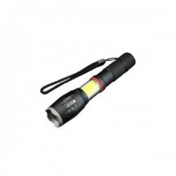 Well Επαναφορτιζόμενος Φακός LED 10W+COB 800LM μαύρος Liberty TORCH-LIBERTY-WL