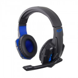 Gaming Ακουστικό με μικρόφωνο Avanger μπλε w/Led EGH450G