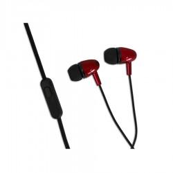 Ακουστικό με μικρόφωνο EH193KR κόκκινο