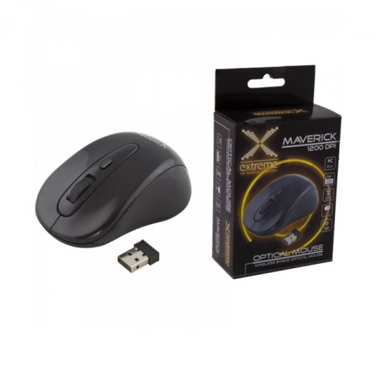 Ασύρματο Ποντίκι 2.4Ghz 3D μαύρο XM104K