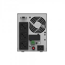 UPS ONLINE 1KVA/800W LCD with 2 x GP07122L