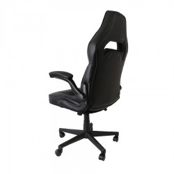 Varr Gaming Chair RiverSide Μαύρο Κόκκινο