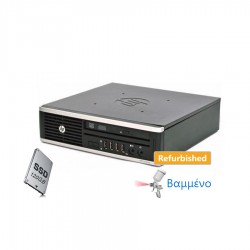 HP 8200 Elite USFF i5-2400s/4GB DDR3/120GB SSD/DVD/7P Grade A Refurbished PC