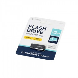 PLATINET USB 2.0 F-DEPO Flash Disk 32GB Waterproof μαύρο PMFF32B