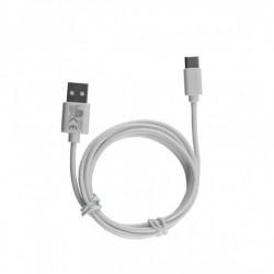Καλώδιο Type C σε USB 6.0A Φόρτισης - Data 1m Λευκό L01 Lime