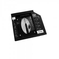 Θήκη σληρού δίσκου HDD (Caddy) 9.5mm Plastic (Laptop)