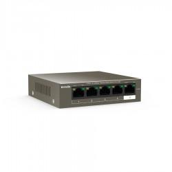 Tenda TEF1105P Desktop Switch 5-port w/4-Port Poe 10/100Mbps TEF1105P-4-63W