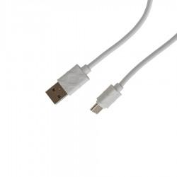 Καλώδιο Φόρτισης - Data Type-C 1m  2.1A Λευκό CA-8213 TREQA