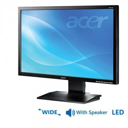 Used Monitor B243W LED/Acer/24/1920x1080/wide/Black/w/Speakers D-SUB & DVI-D