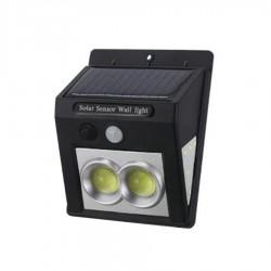 Ηλιακό Επιτοίχιο φωτιστικό / προβολέας LED με ανιχνευτή κίνησης SH-100