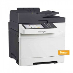 Lexmark Used MFP Printer CX510de Δικτυακό Έγχρωμο Laser Πολυμηχάνημα ( με toner)