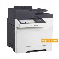 Lexmark Used MFP Printer CX510de Δικτυακό Έγχρωμο Laser  Πολυμηχάνημα ( με high toner)