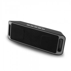 Ηχείο Bluetooth 6W Hands-Free & w/FM Radio Μαύρο/Γκρι EP126KE
